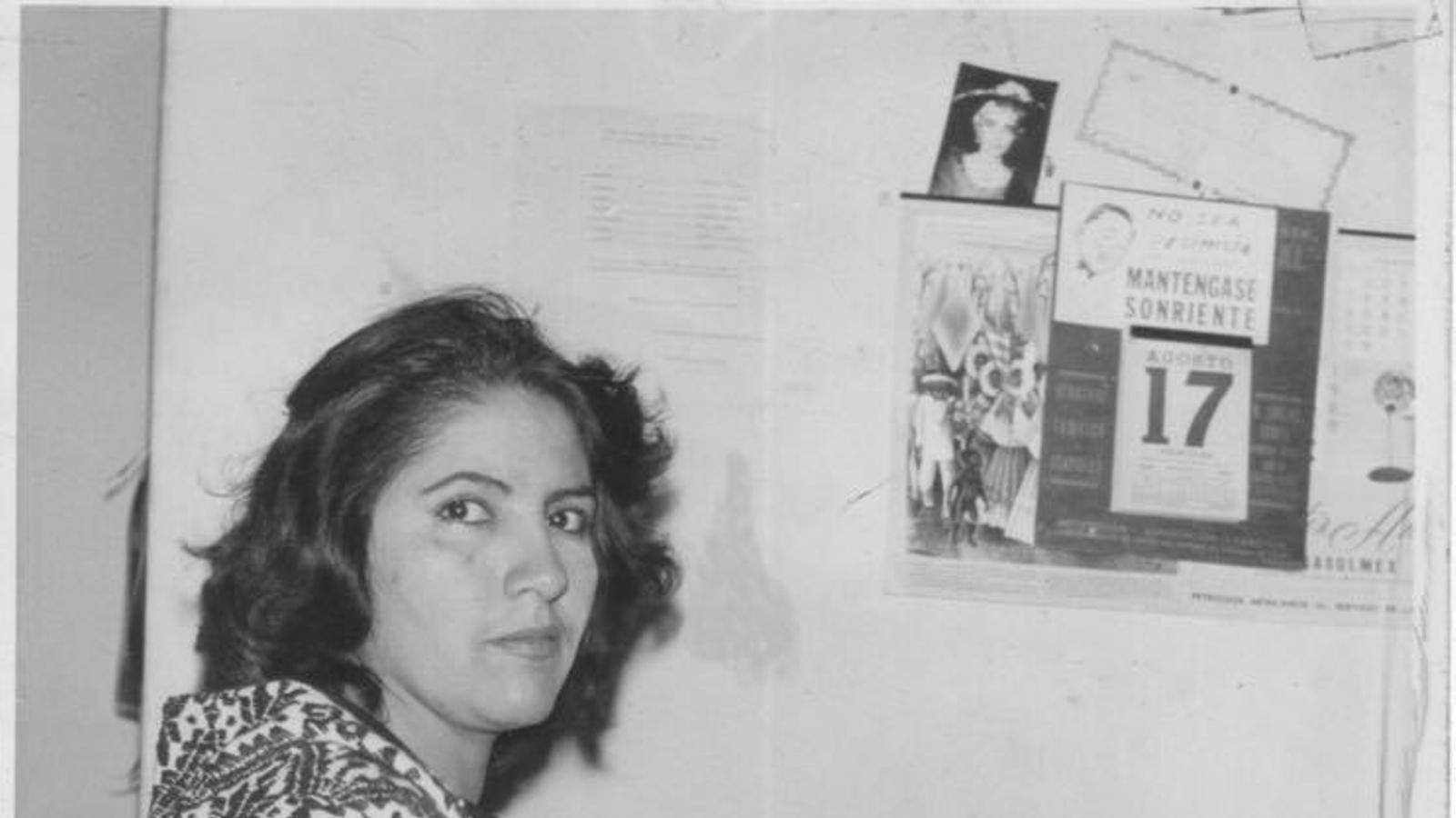 Margarita Lara de Alba, que va sobreviure al tiroteig de la matança de Tlatelolco