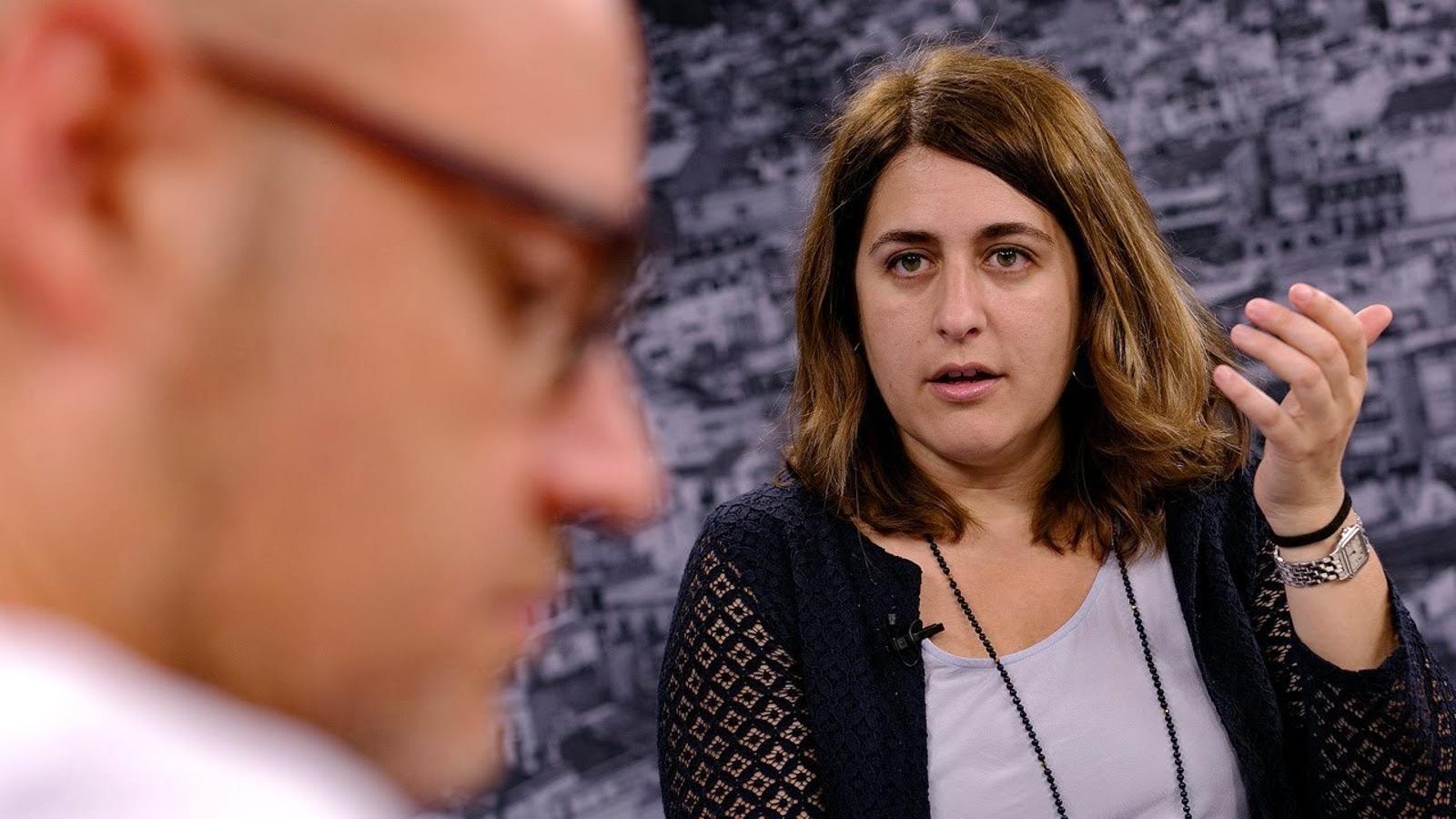 """Marta Pascal: """"M'agradaria molt que Puigdemont fos el president del PDECat"""""""