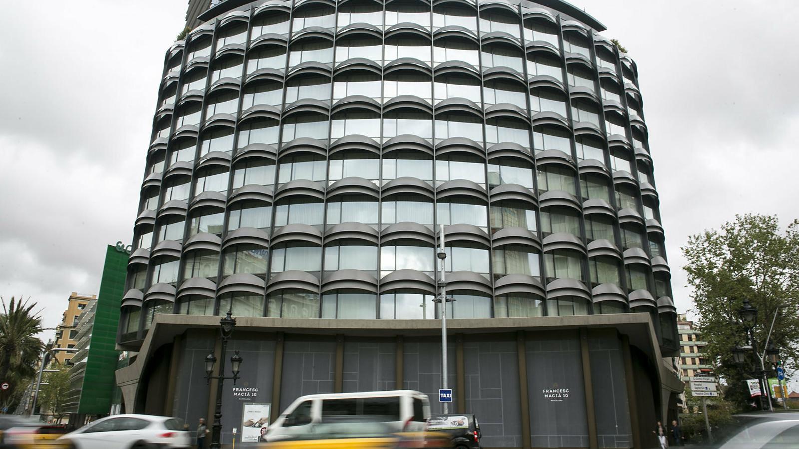 L'oficina serà als baixos de l'antic edifici Winterthur.