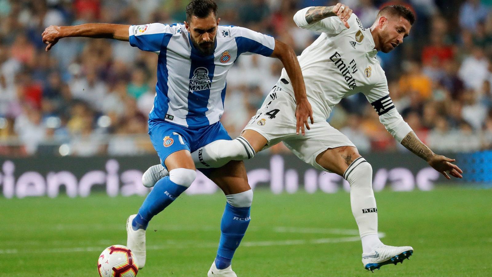 L'Espanyol cau amb el   Cap ben alt al Bernabéu