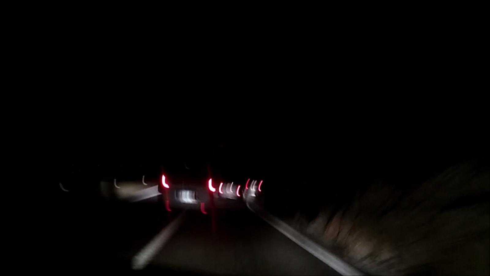 Vídeo del conductor temerari a la C-31