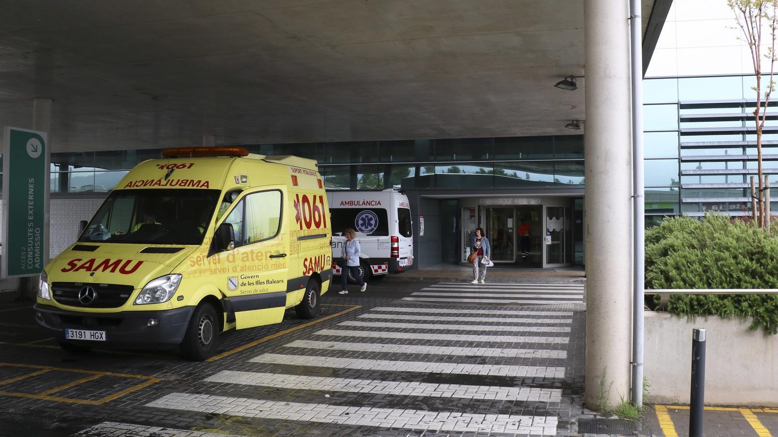 Set ferits lleus a un accident a l'autovia de Llucmajor