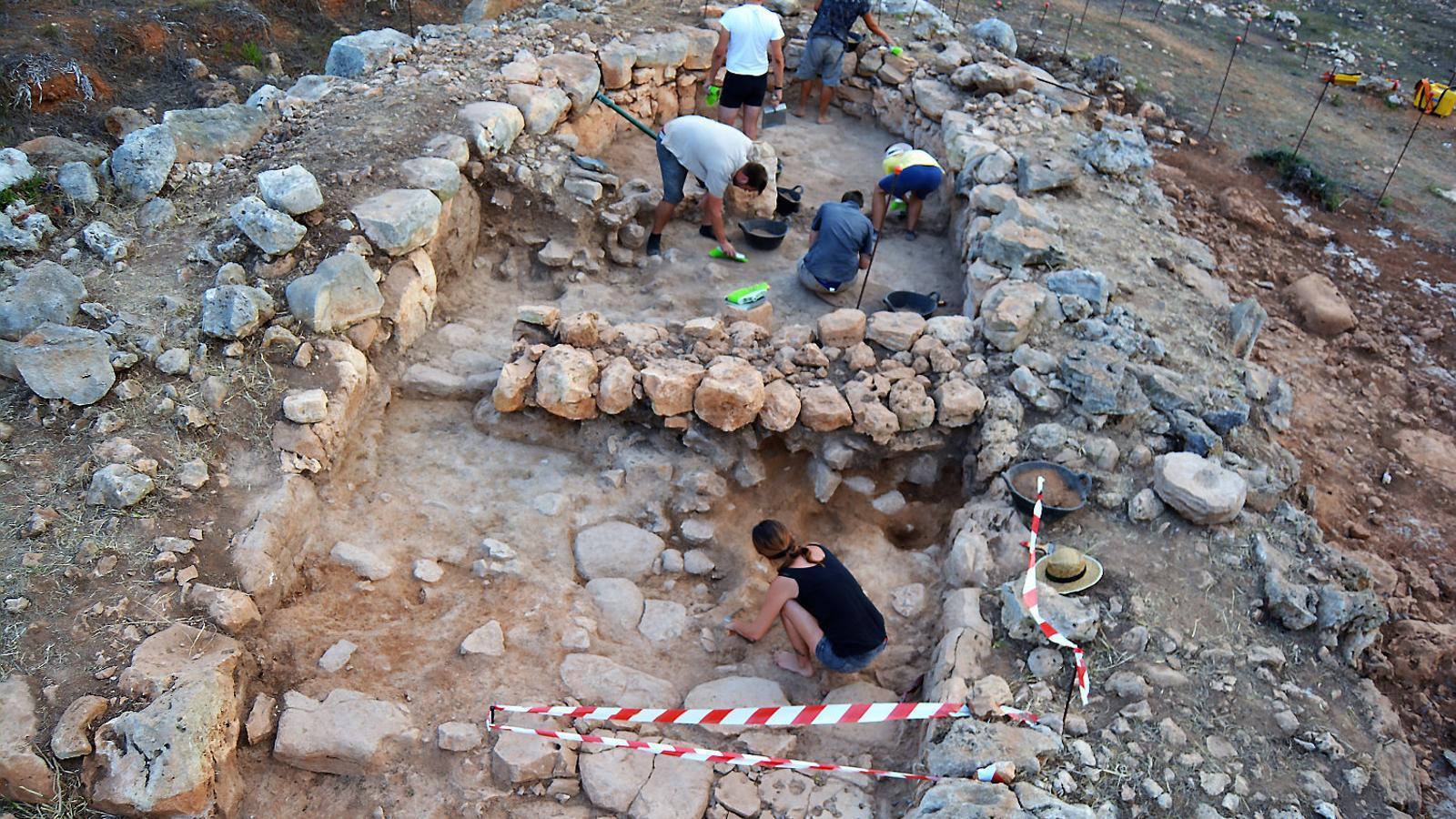 La campanya d'excavació es va iniciar el passat 24 de juliol.