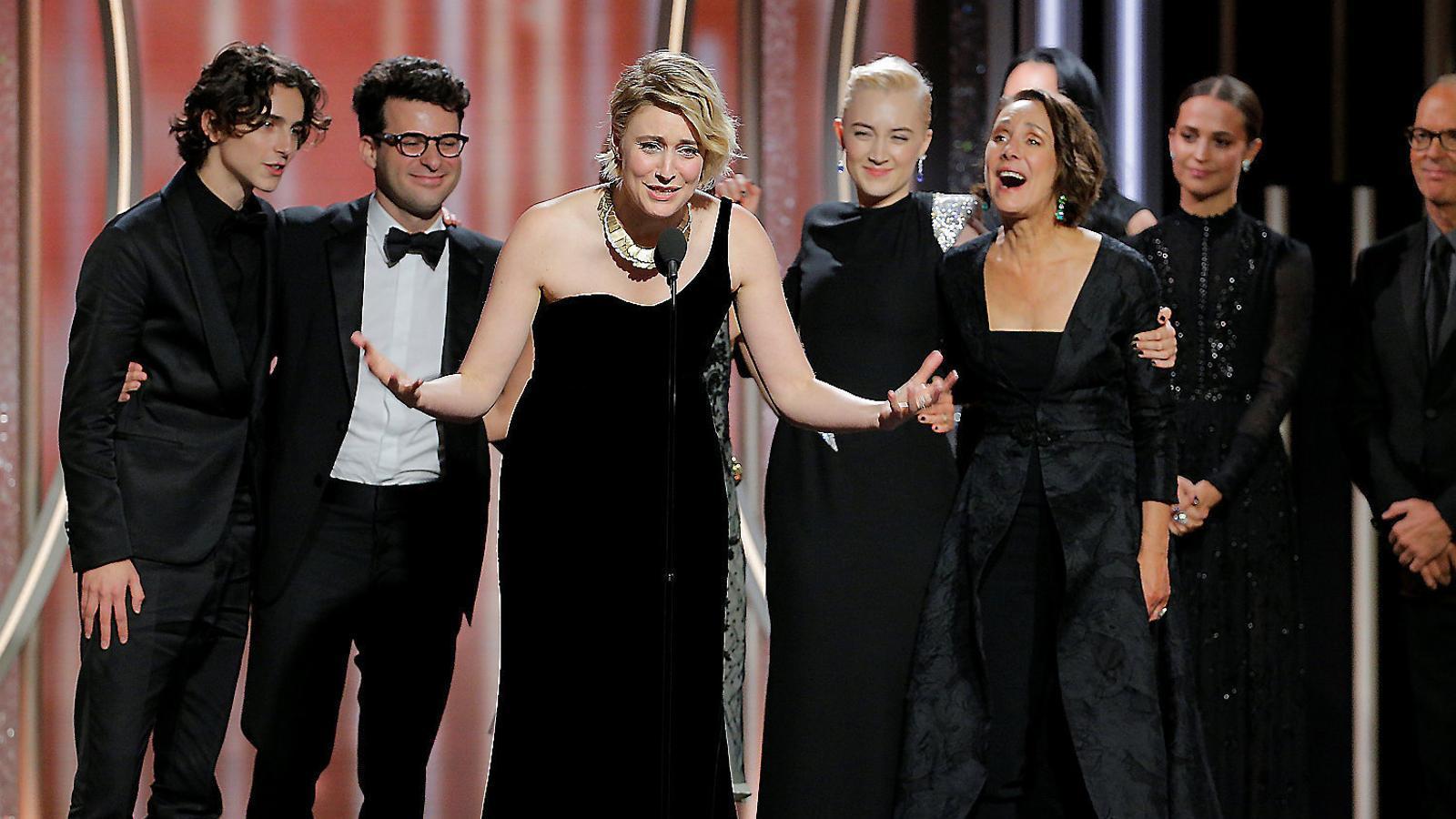 """Globus d'or 2018 """"Ja n'hi ha prou!"""": quan el feminisme importa més que el cinema"""