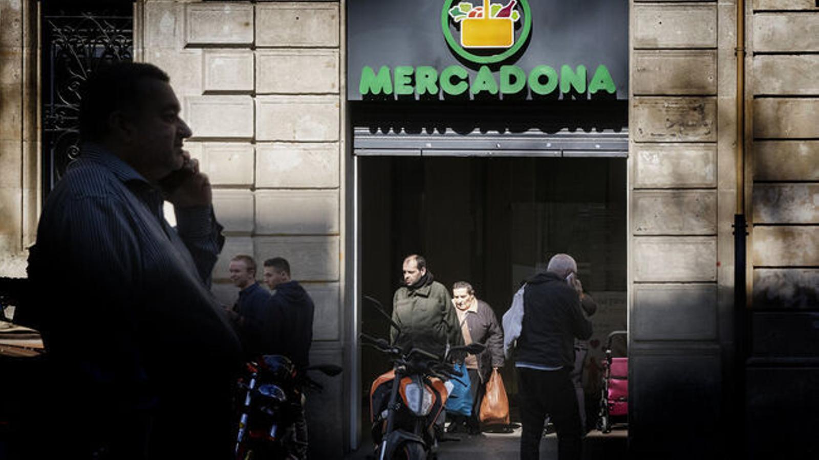 Des de l'1 de juliol Mercadona ha instal·lat càmeres de reconeixement facial en una quarantena de supermercats entre els quals no hi ha el de la Seu d'Urgell. / MANOLO GARCÍA