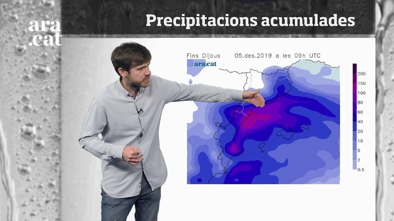 Méteo especial: temporal de mar, vent i pluja que no arribarà al cap de setmana