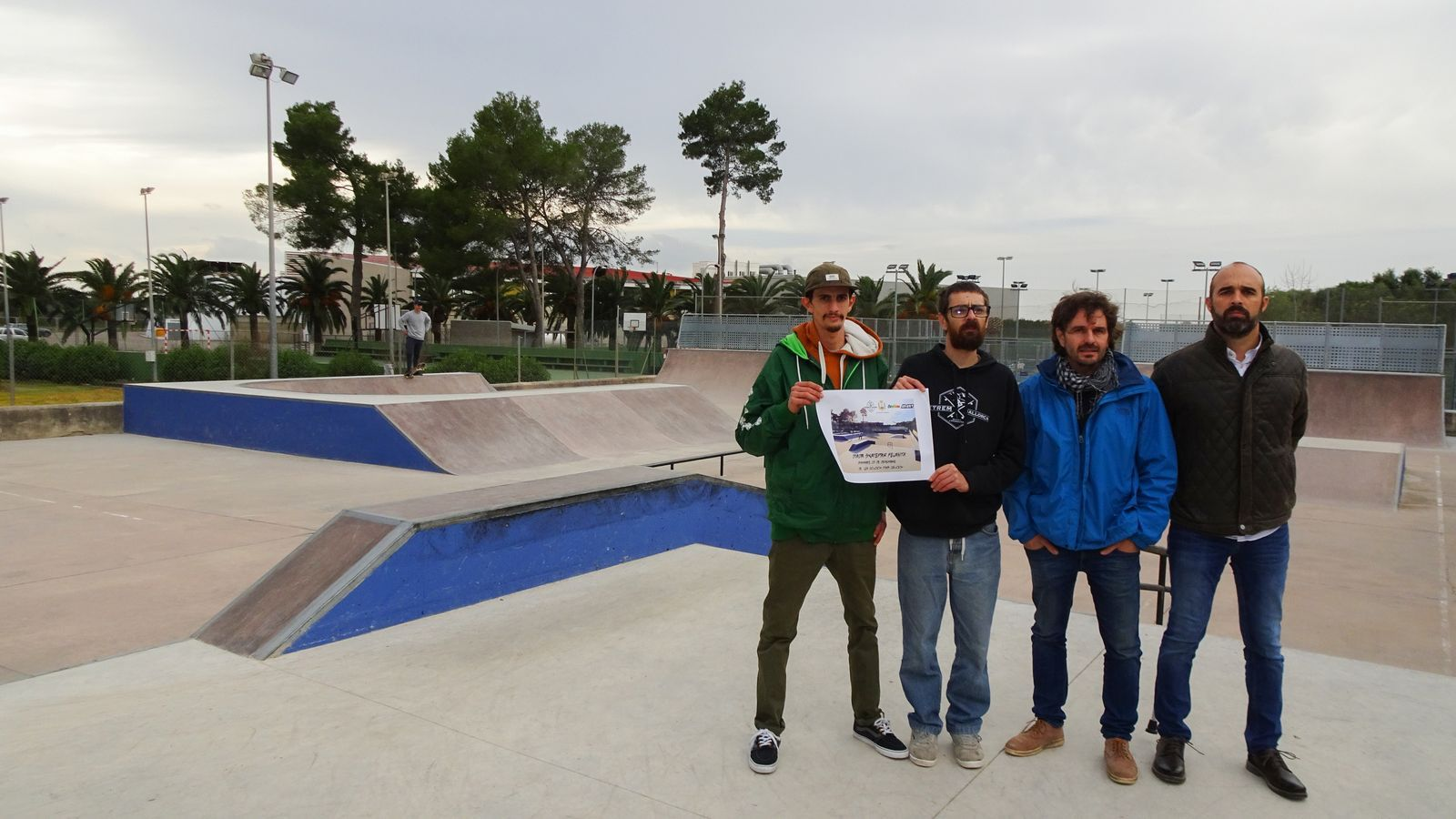 El nou skatepark s'ha ampliat davant la demanda de més pistes.