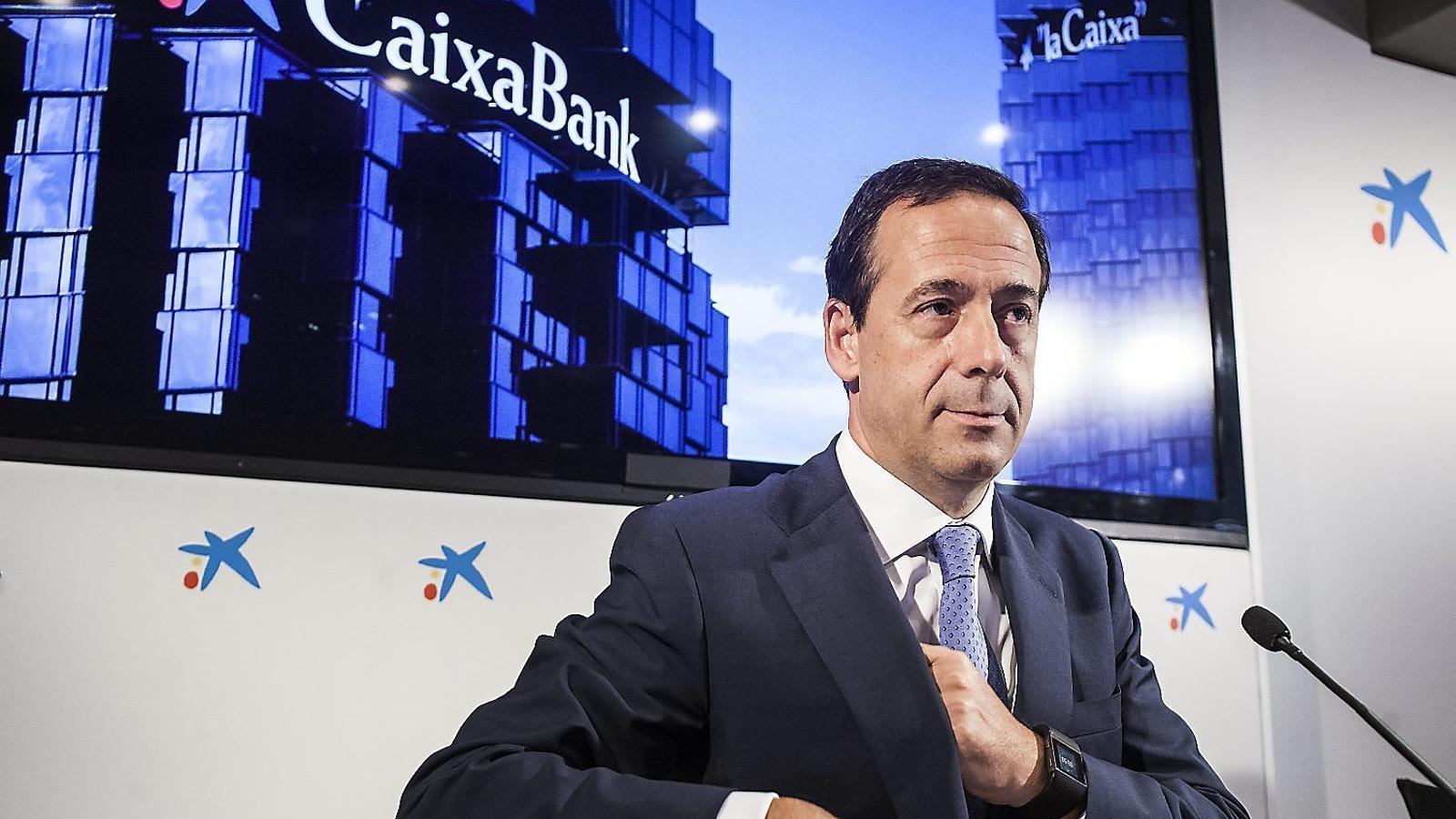 Gonzalo Gortázar, conseller delegat de CaixaBank, en una imatge d'arxiu.