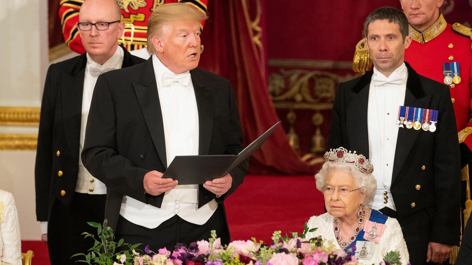 Donald Trump ja ha triat: prefereix la reina Elisabet II abans que la seva compatriota Meghan Markle