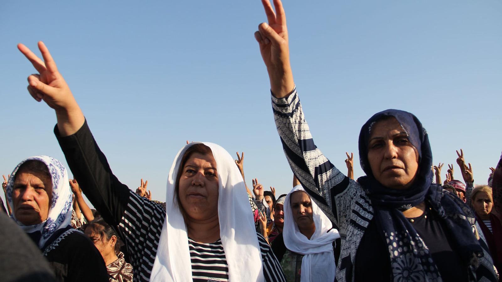 Fre a l'emancipació de la dona al nord de Síria