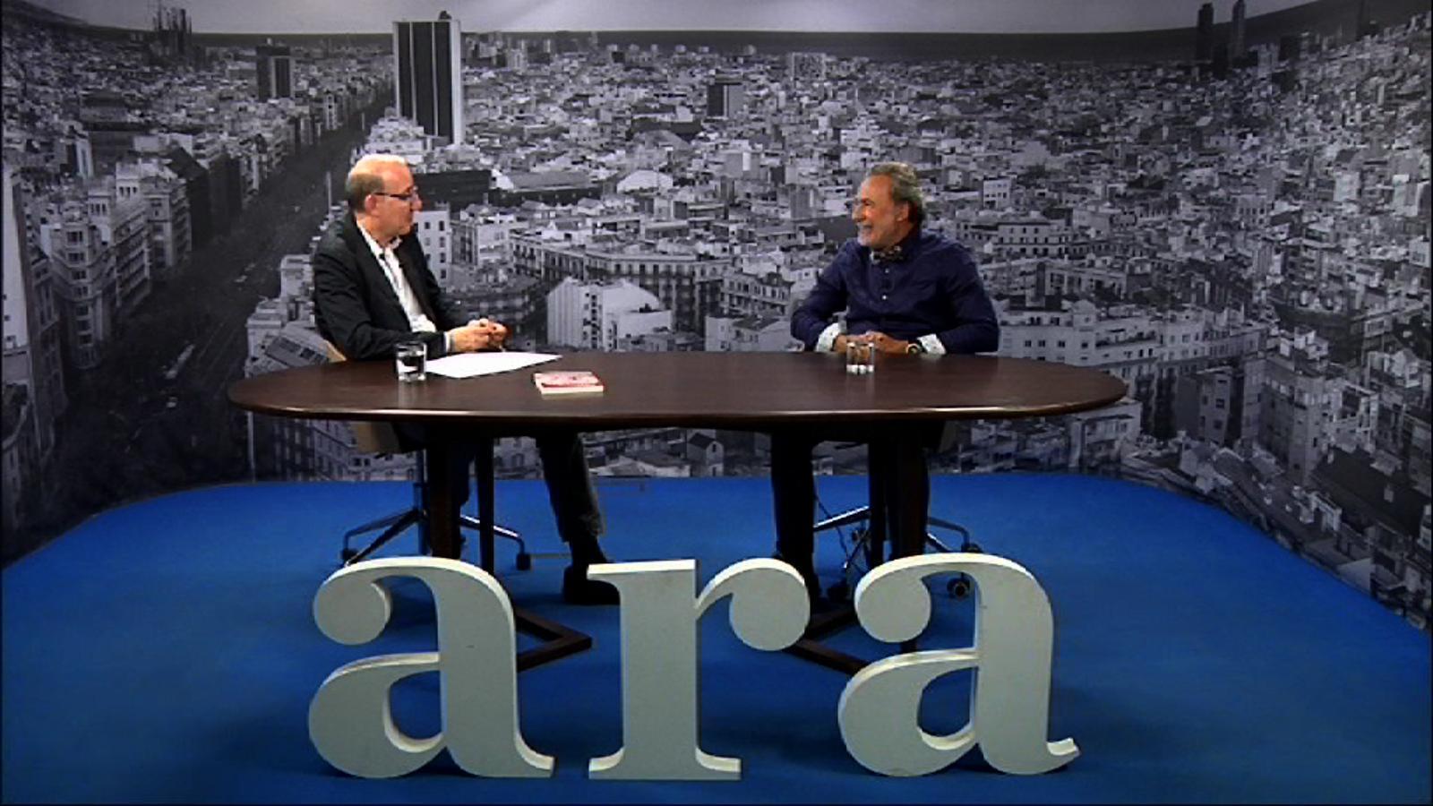 Entrevista d'Antoni Bassas a Manel Medina