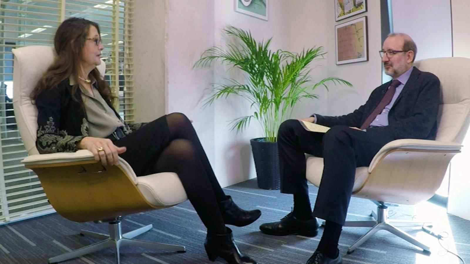 Entrevista d'Antoni Bassas a Helena Guardans