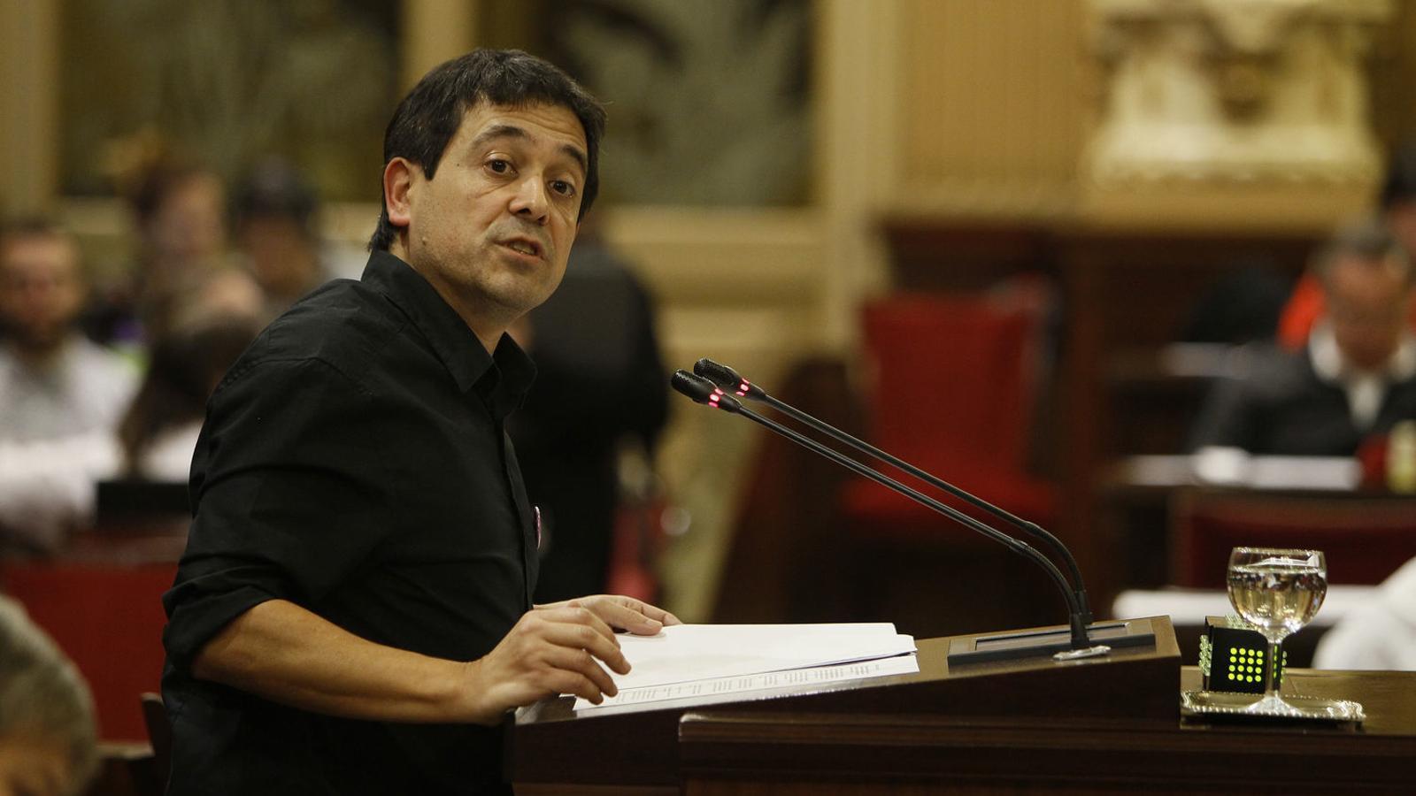 El coordinador i diputat de Més per Menorca, Nel Martí.