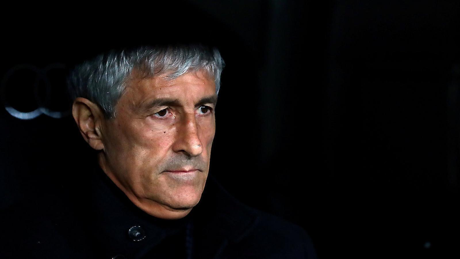 L'últim acte de fe  en el Barça de Setién