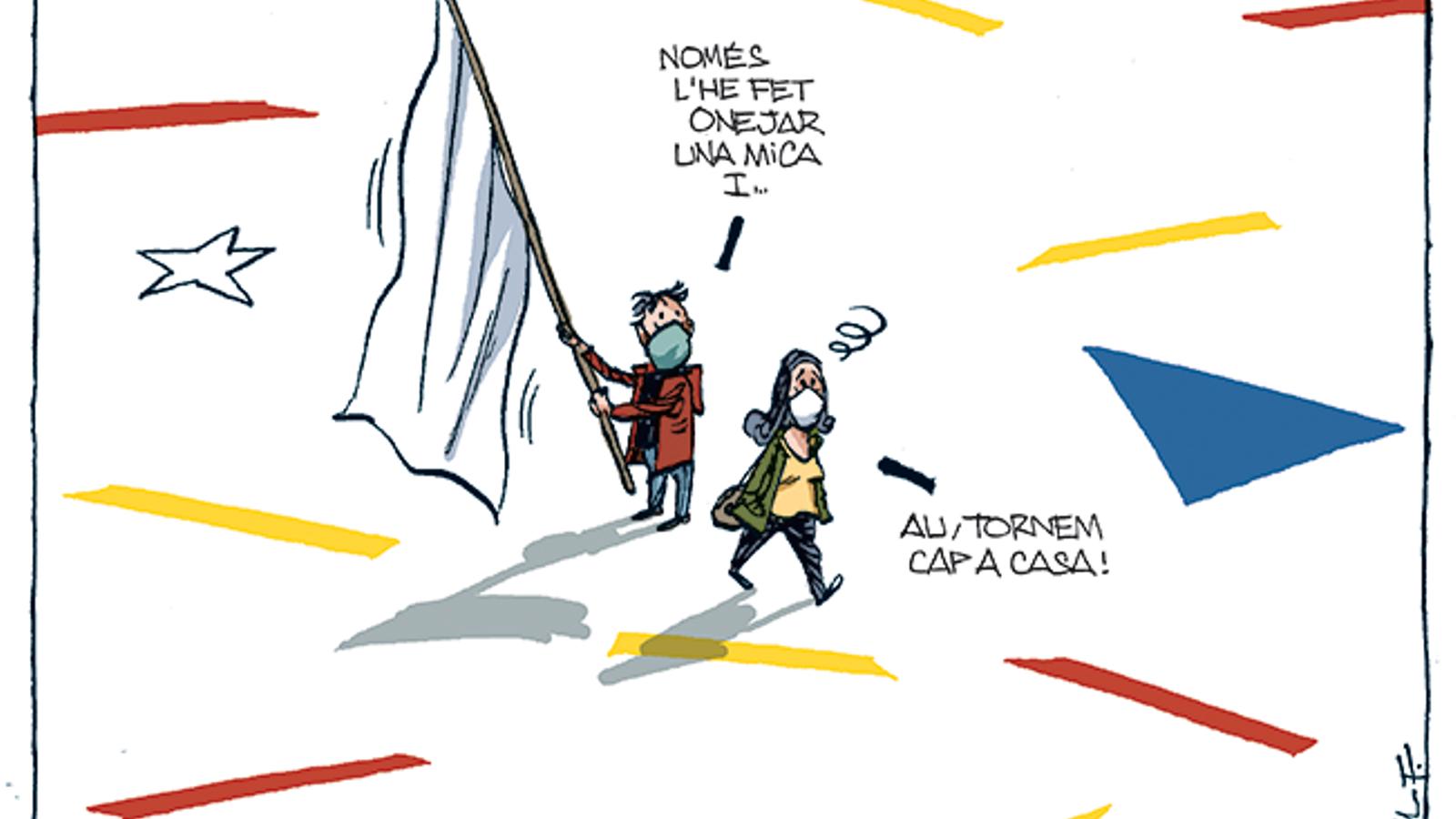 La vinyeta de Manel Fontdevila 13/09/2020