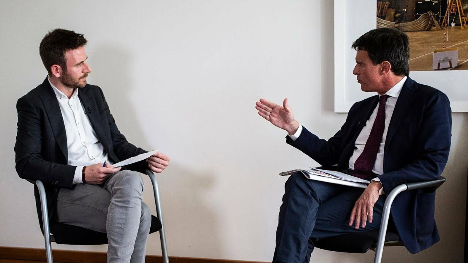 Maiol Roger entrevista Manuel Valls
