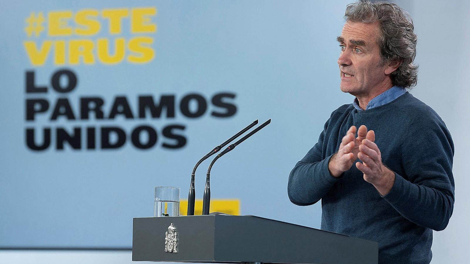 EN DIRECTE | Roda de premsa de Fernando Simón