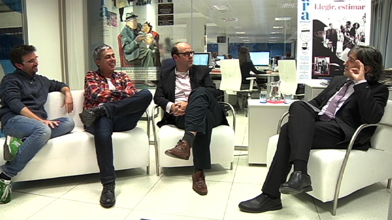 Conversa Basté-Évole-Om: Aquesta generació nostra ha de trencar les barreres entre grups mediàtics