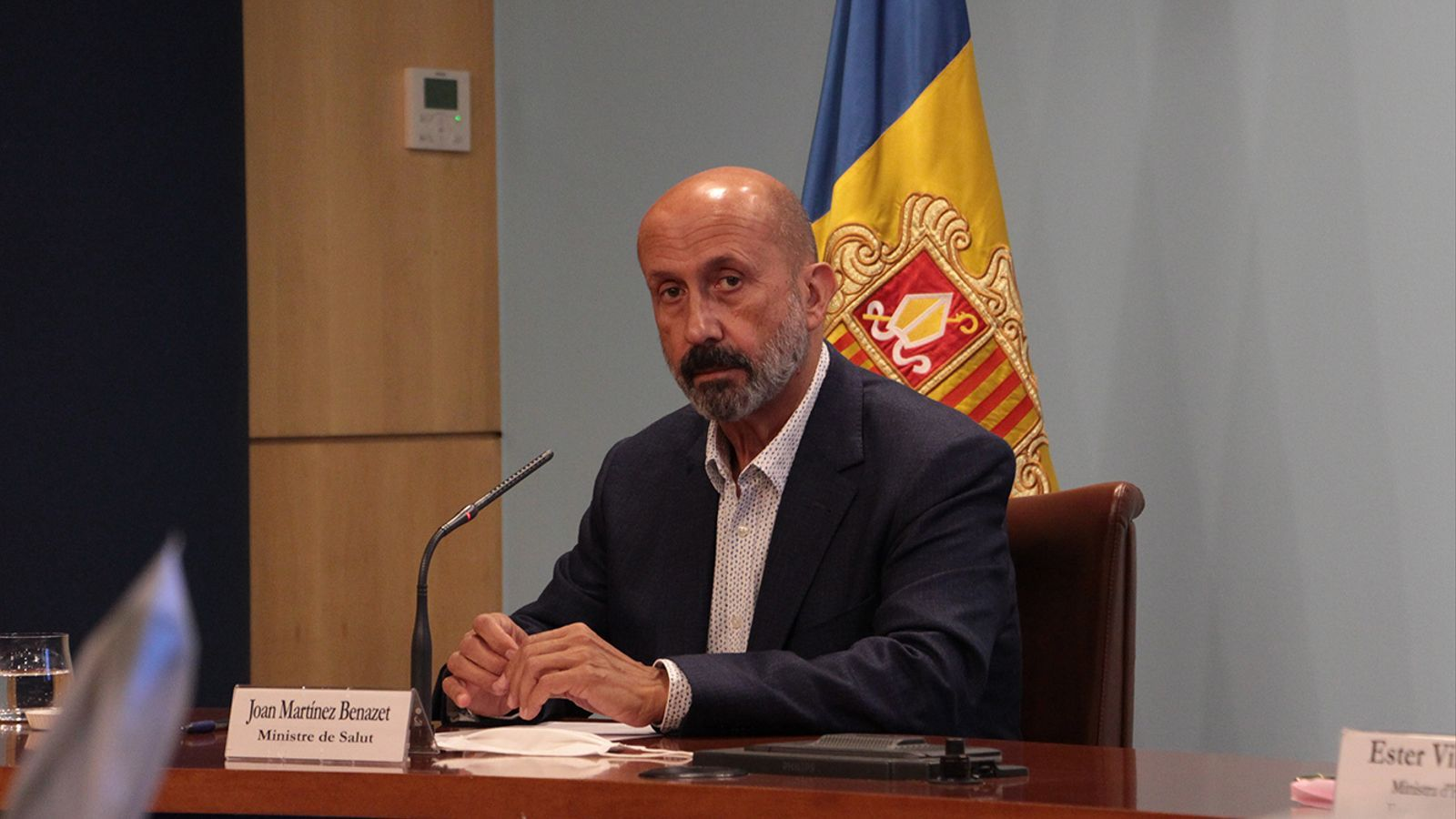 El ministre de Salut, Joan Martínez Benazet. / M. F. (ANA)