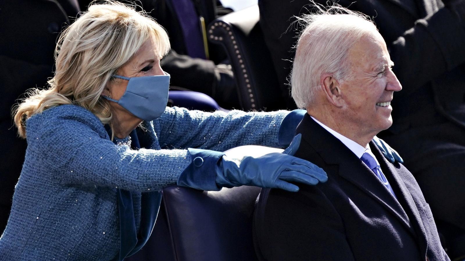 Jull Biden felicita carinyosament al nou President del Estats Units