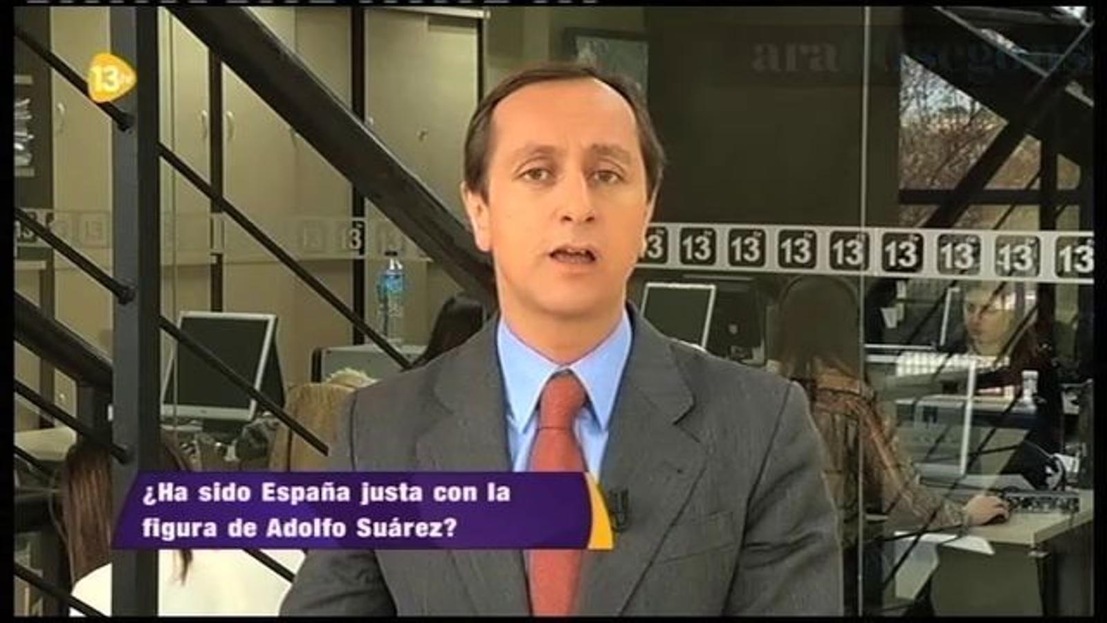 El record de la figura del Suárez segons els altres mitjans