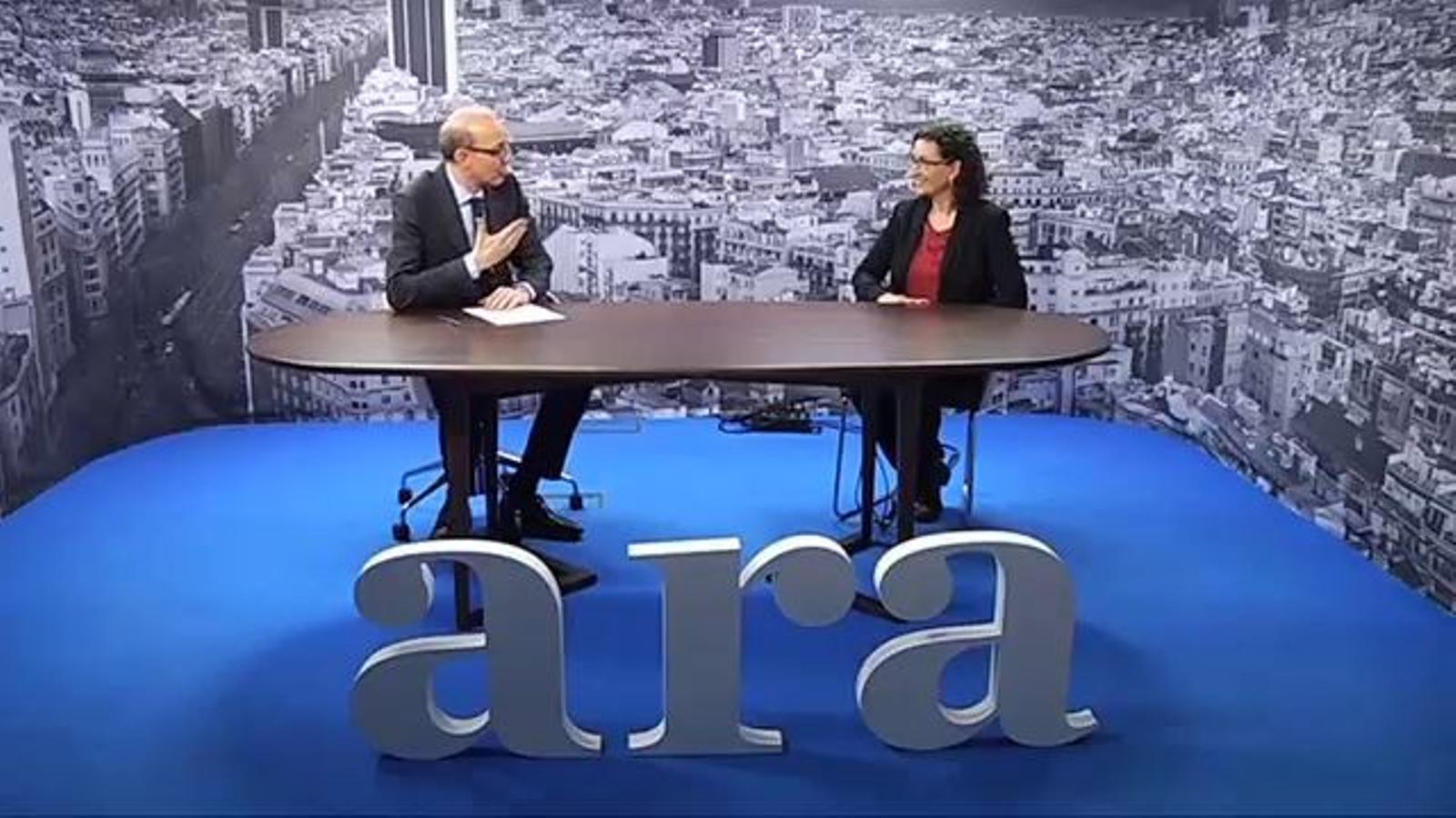 Marta Rovira: El govern espanyol ha d'entendre que tenim un mandat per demanar la consulta