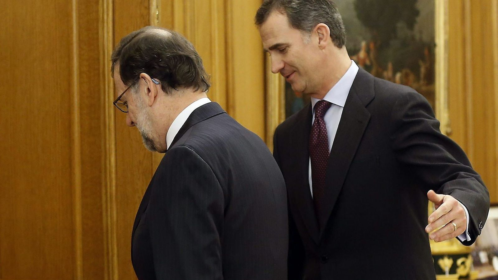 Mariano Rajoy creia que Felip VI li seguiria el joc durant la investidura i mantindria el procés aturat fins que el president en funcions tingués prou suports per tornar a rebre l'aval del Congrés.