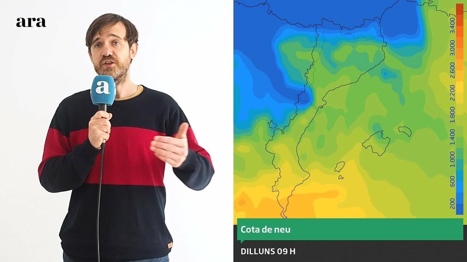 La méteo: el fred i la neu s'allunyen però tornaran la setmana que ve