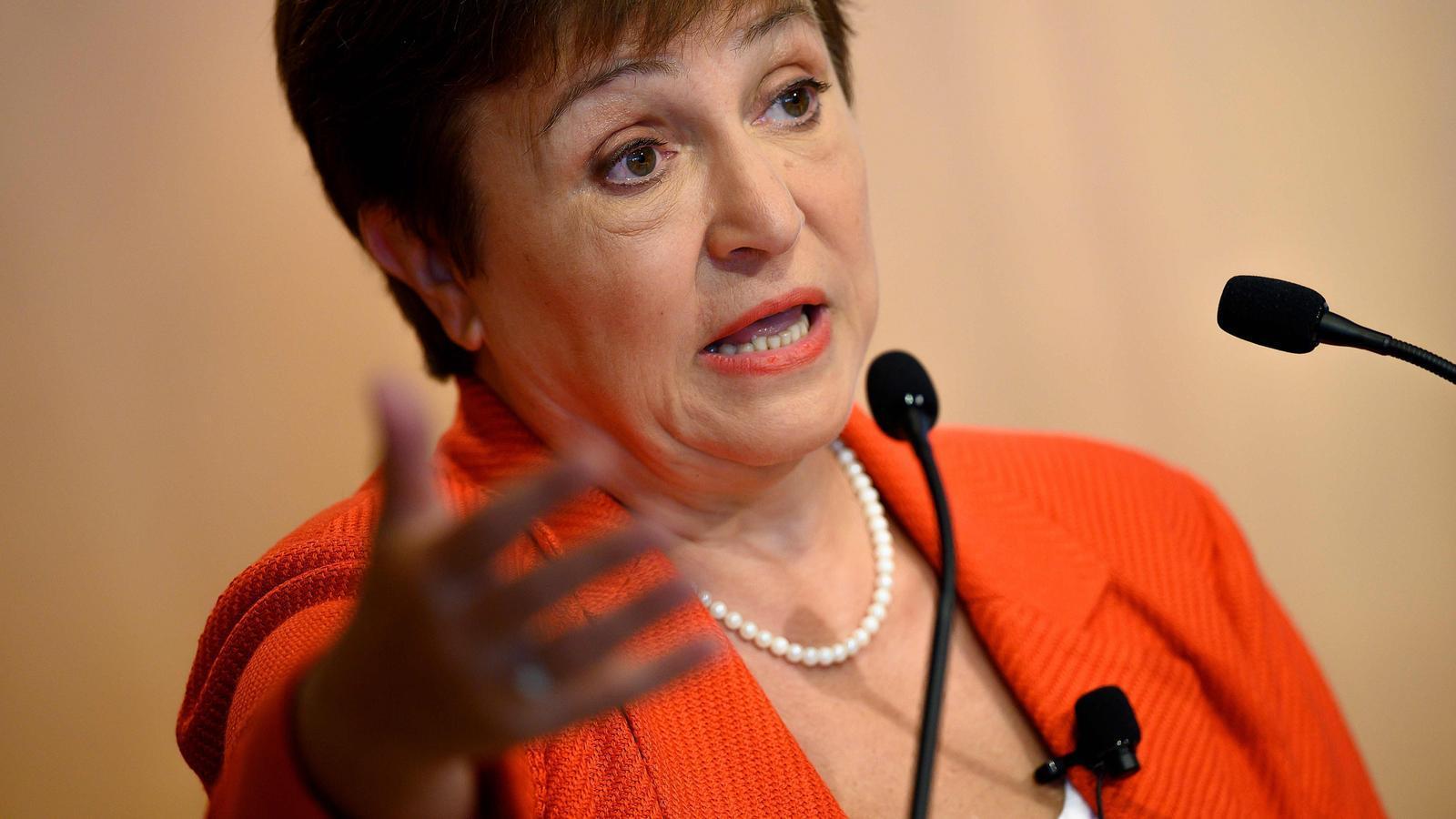 La directora-gerent de l'FMI, Kristalina Georgieva.