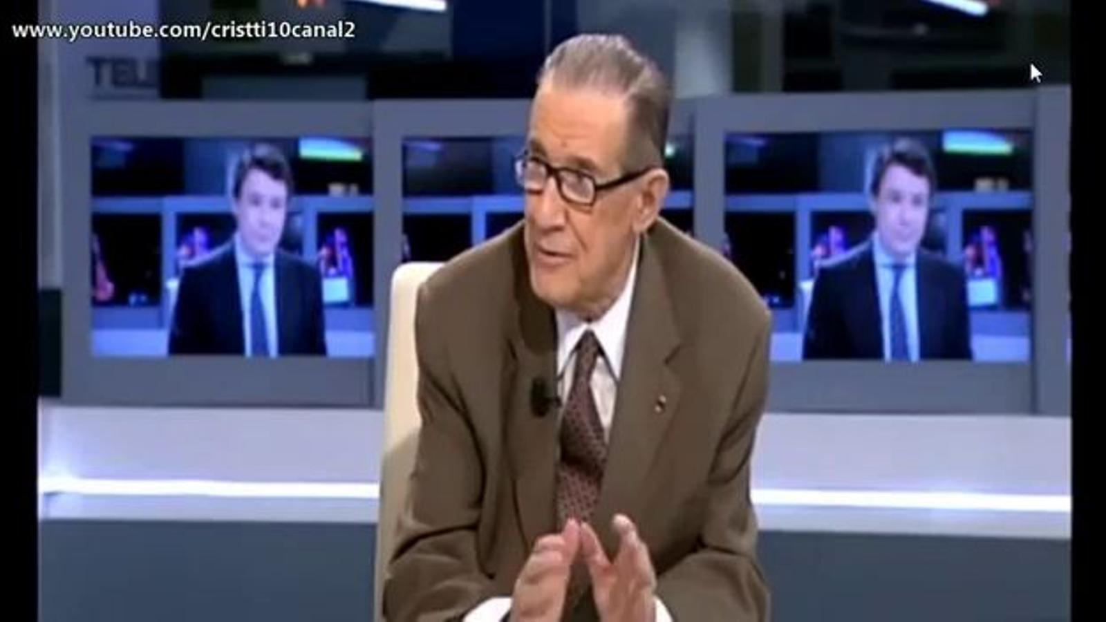 Declaracions de Juan Velarde a Telemadrid