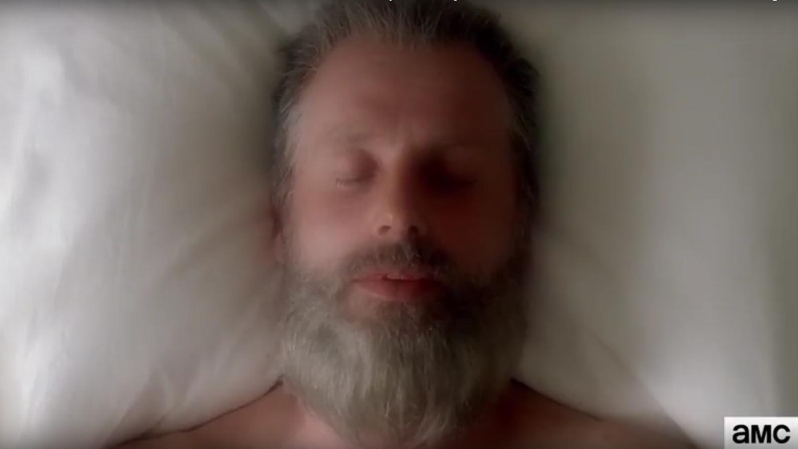 El Rick envelleix al tràiler de la vuitena temporada de 'The walking dead'