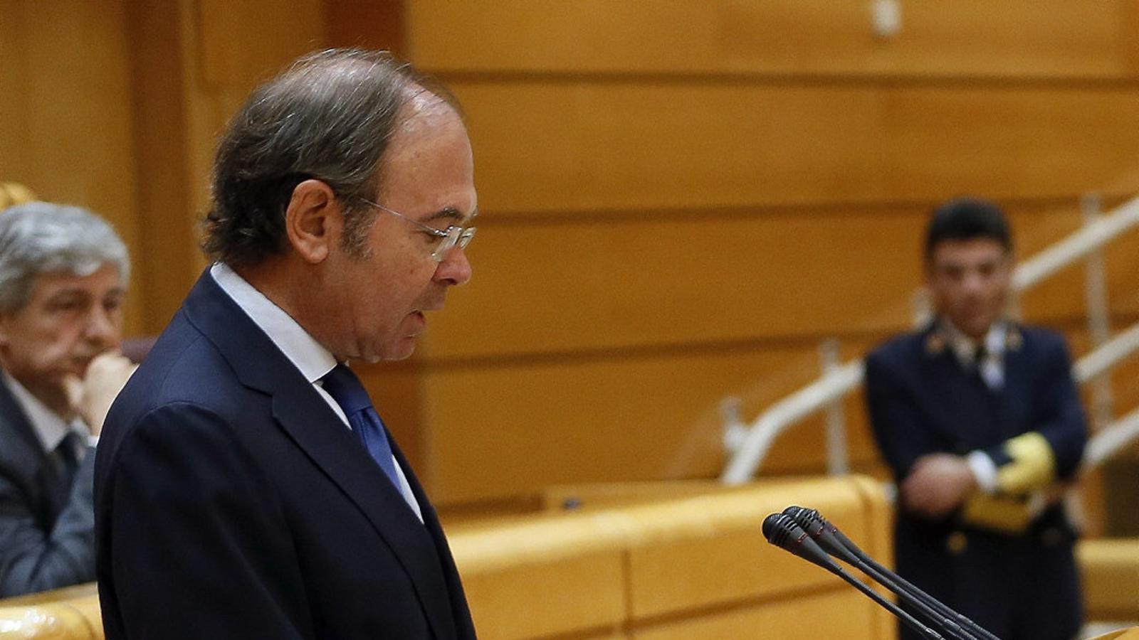El president del Senat, Pío García-Escudero, ja ha convocat la reunió de la mesa demà.