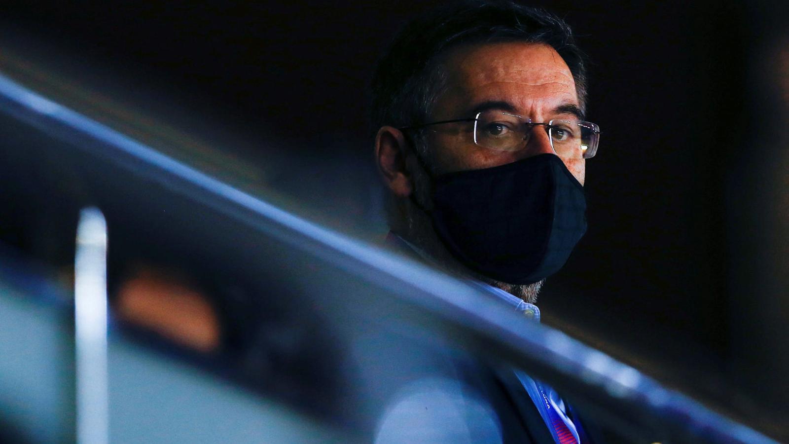 El president del Barça, Josep Maria Bartomeu, viu un dels moments més complicats des que és president del Barça.