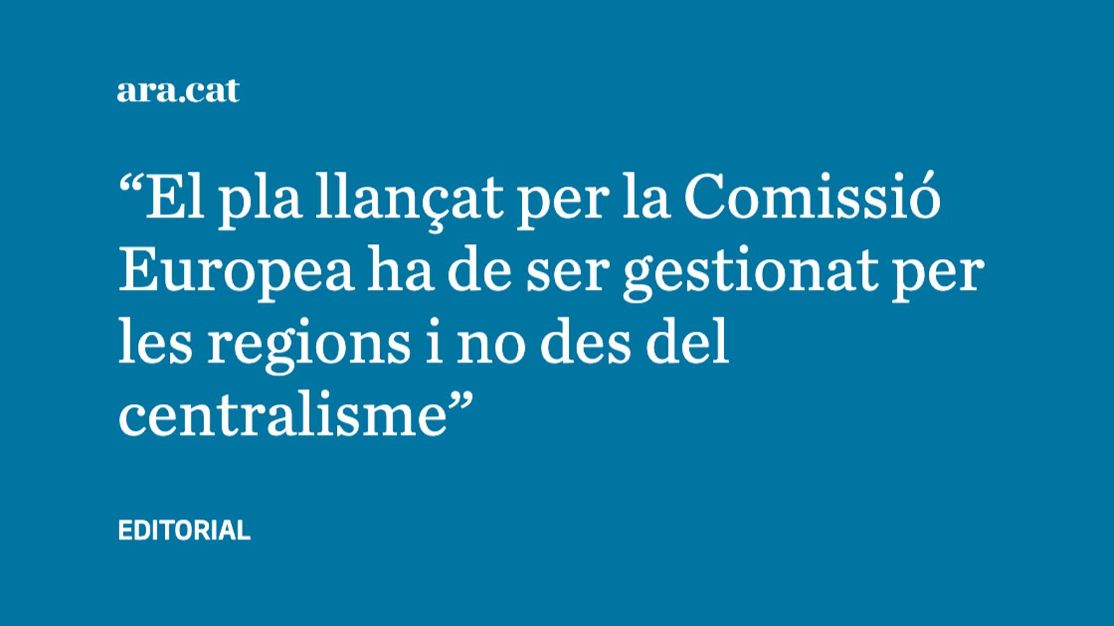 Ajudes europees i principi de subsidiarietat