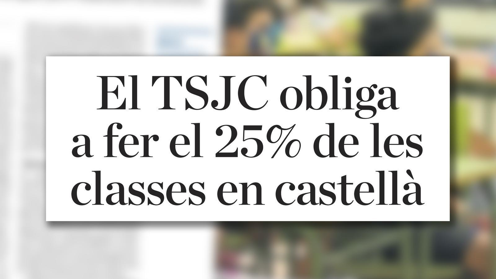 L'anàlisi d'Antoni Bassas: 'El català i el missatge del TSJC'