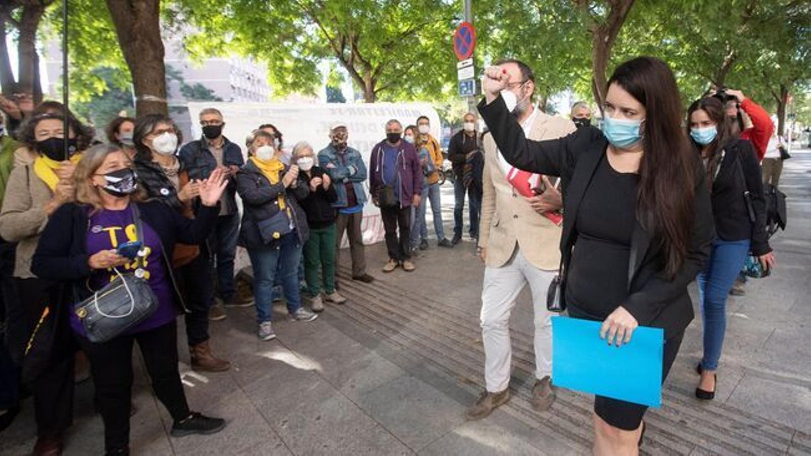 L'Audiència de Barcelona rebutja el recurs de la fiscalia i confirma l'absolució de Tamara Carrasco