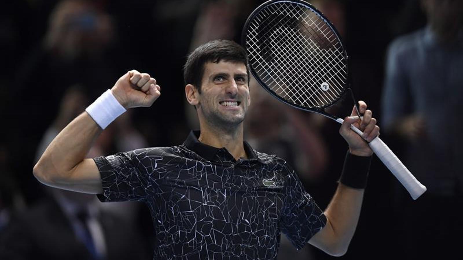 Djokovic buscarà la seva sisena Copa Masters contra Zverev