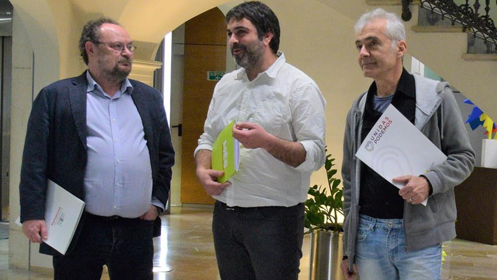 Els partits del Pacte fan un front comú per rebutjar l'ampliació de l'aeroport de Palma
