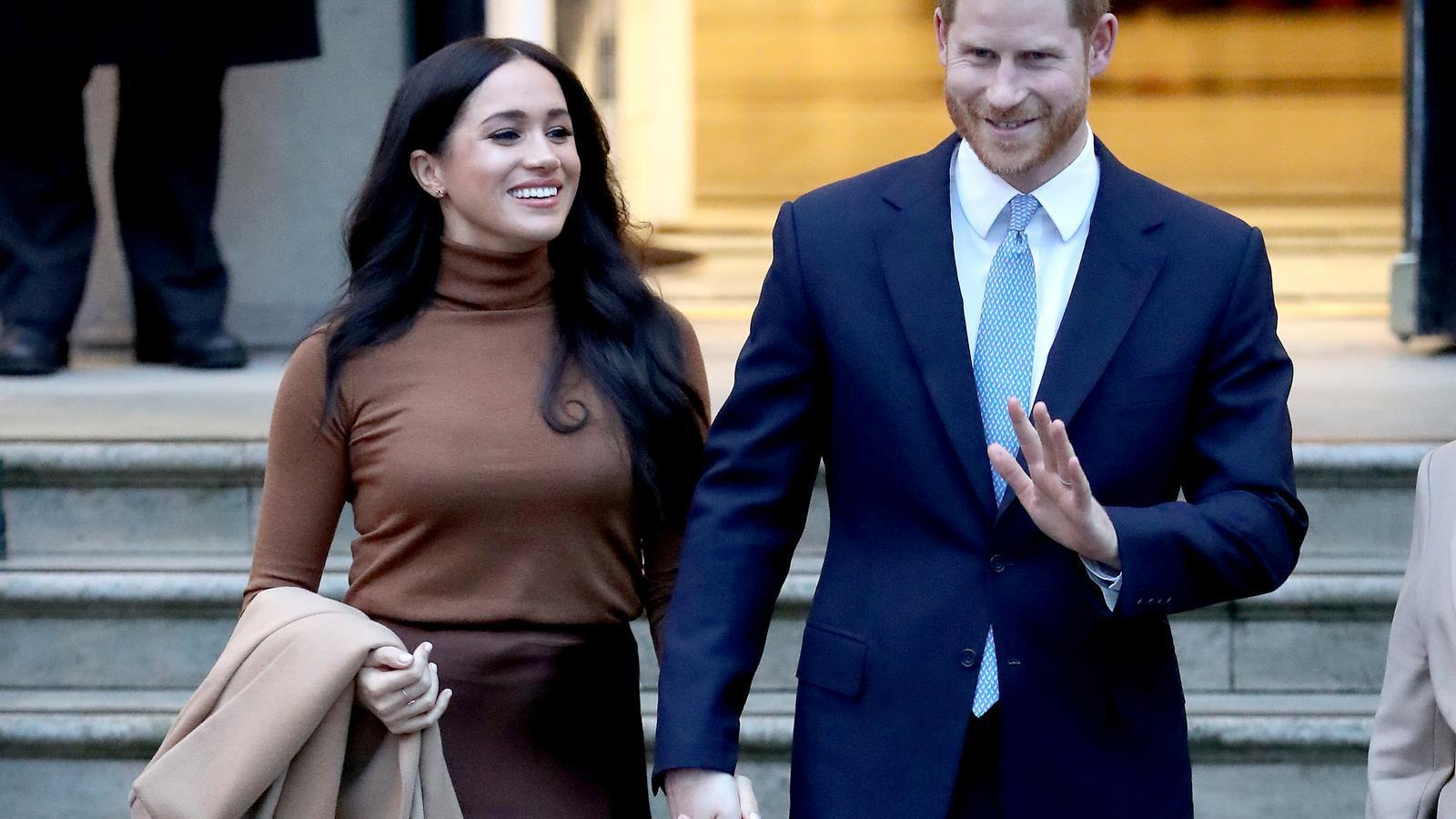 Meghan Markle i el príncep Enric, en una imatge del passat 7 de gener, a Londres