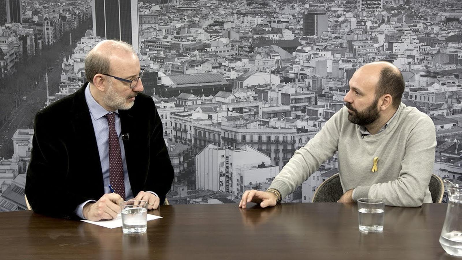 """Marcel Mauri: """"Òmnium veu 'magnífic' que Sànchez sigui candidat a la Generalitat"""""""