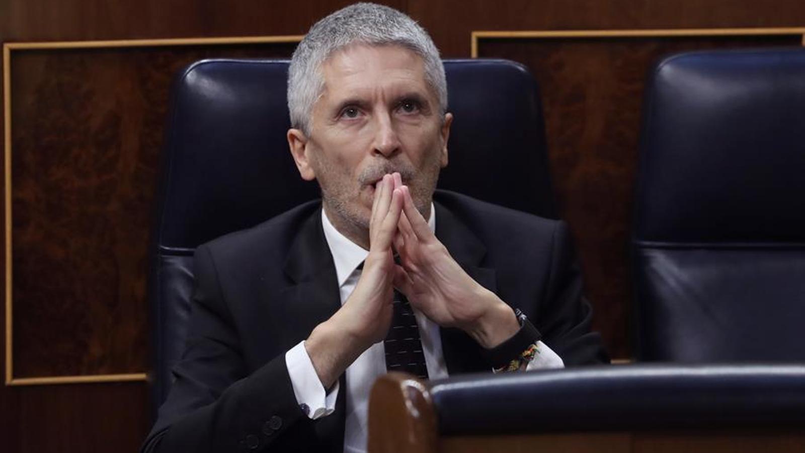"""Sánchez defensa Marlaska: """"L'ataquen per haver desmuntat la policia patriòtica"""""""