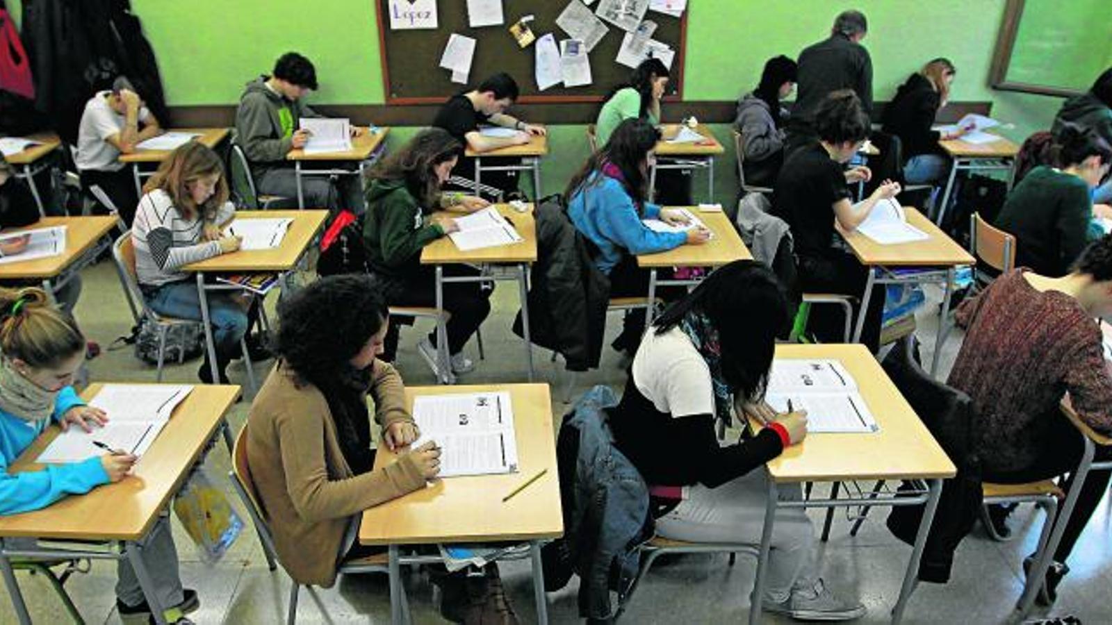 Fracàs escolar: l'assignatura pendent Secundària en el punt de mira