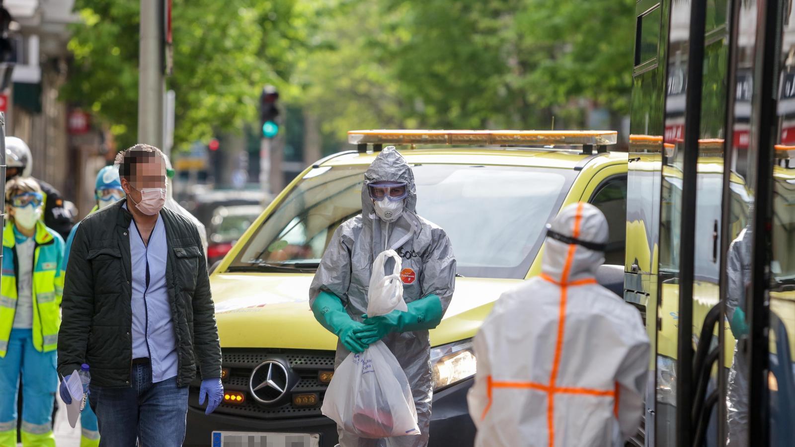 Espanya registra 637 morts per coronavirus, la xifra més baixa dels últims 13 dies
