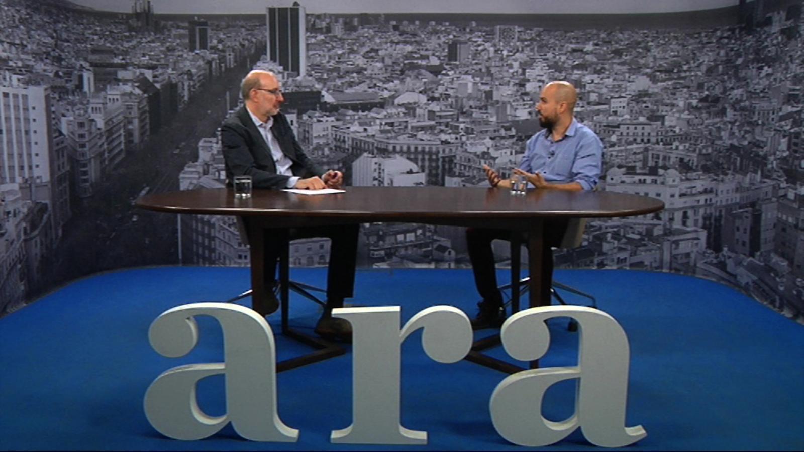 Entrevista d'Antoni Bassas a Salvador Lladó