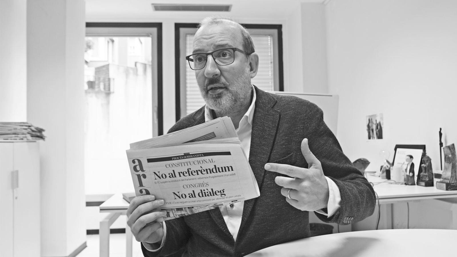 L'anàlisi d'Antoni Bassas: 'Un punt feble de l'estat espanyol'