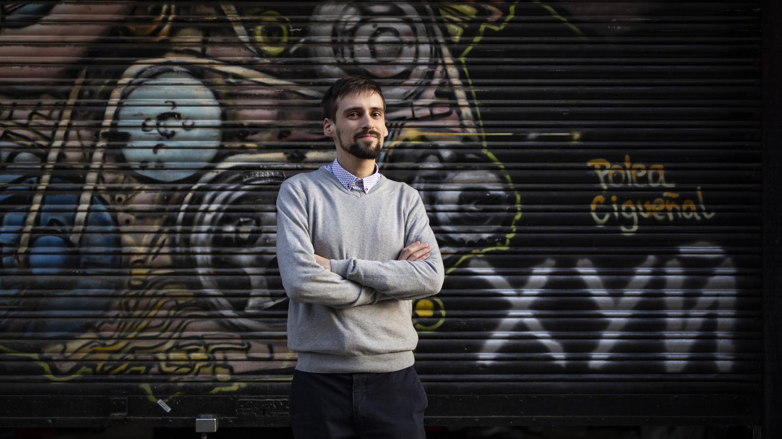 El traductor Arnau Barios