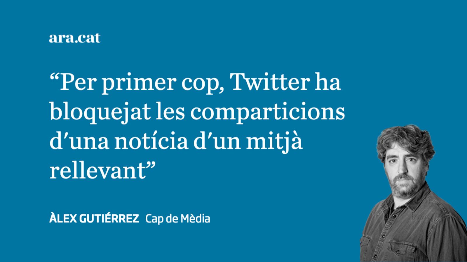 Twitter obre un front contra la caverna americana