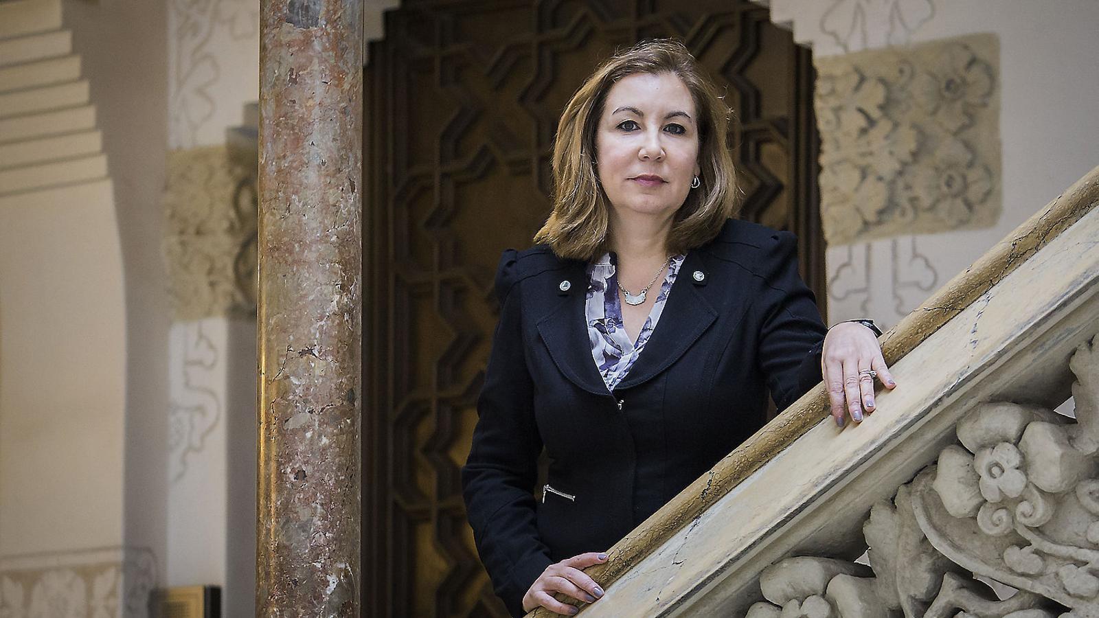 """Luisa-Elena Delgado: """"És millor que Vox estigui fora del PP que no pas amagat dins"""" / PERE VIRGILI"""