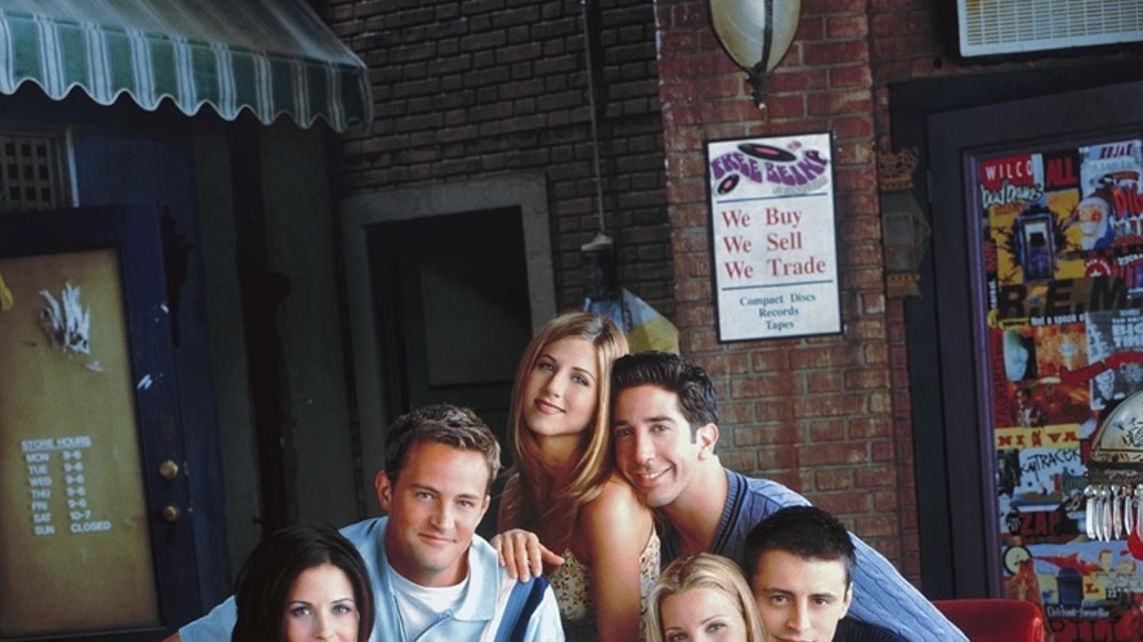 Els protagonistes de 'Friends' accepten de retrobar-se per al llançament d'HBO Max