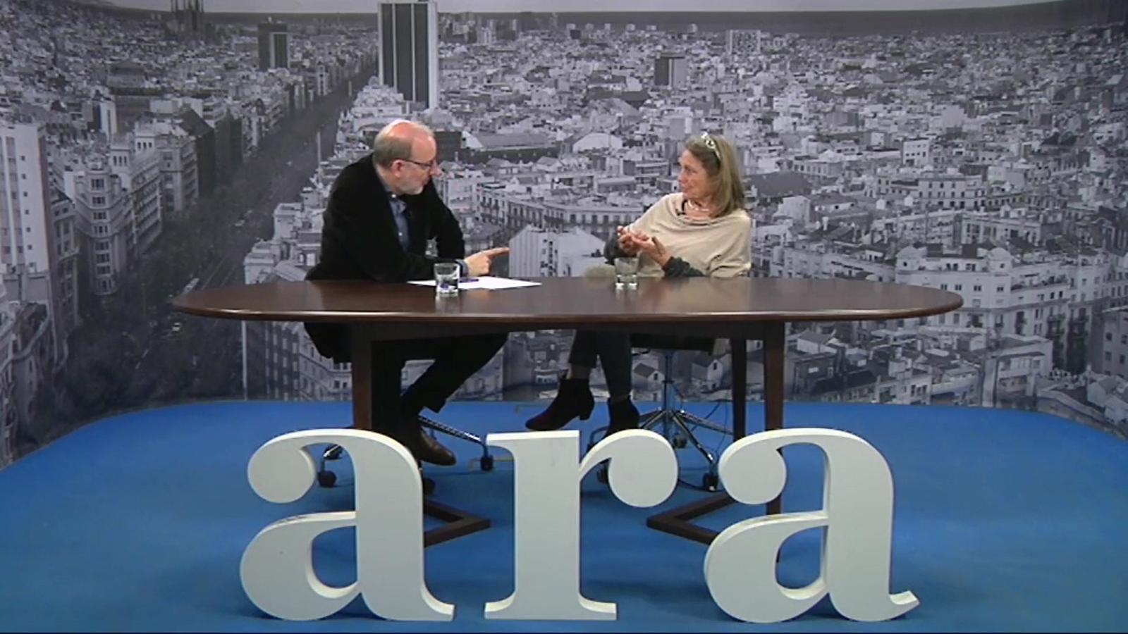Entrevista d'Antoni Bassas a Beth Galí